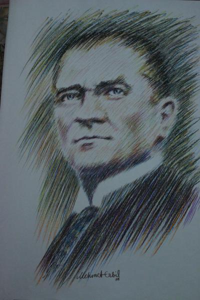 Atatürk Portresi(100x70cm)