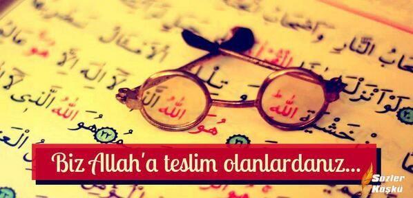 Allah'a Teslim Olmak