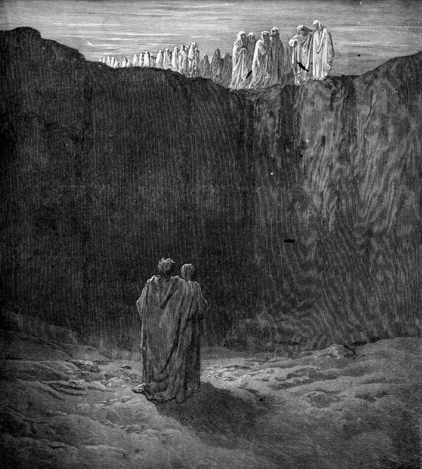 araf, purgatory, Gustave Dore