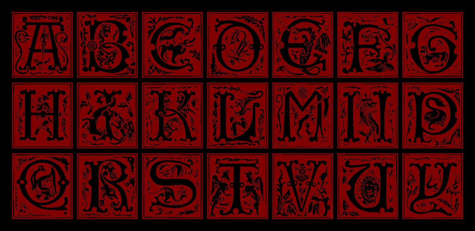 alfabe, alphabet