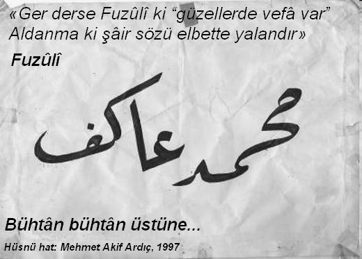 hüsnü hat, Mehmet Akif Ardıç, Akhenaton