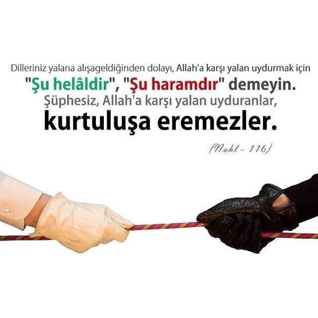 Kuran, haram, ayet