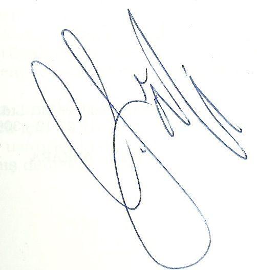 Cemal Sâfi, imza, signature