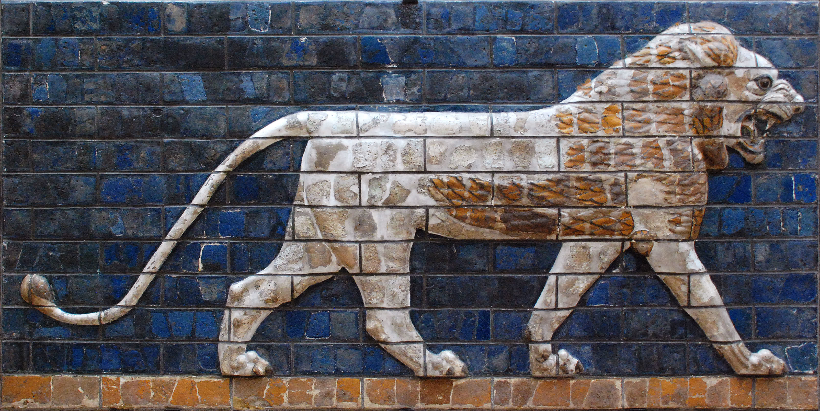 iştar kapısı, aslan