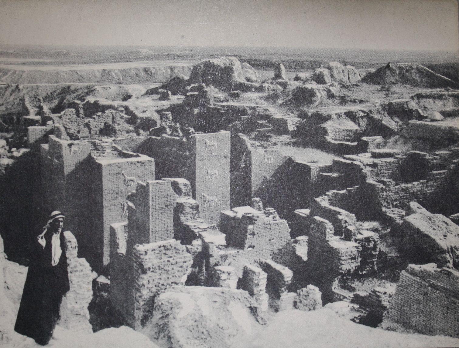 iştar kapısı, kazı