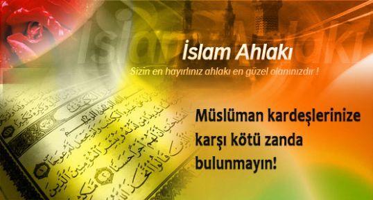islam ahlakı