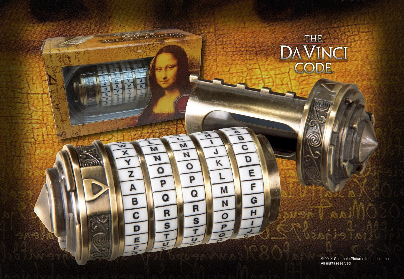 kripteks, da vinci code, cryptex