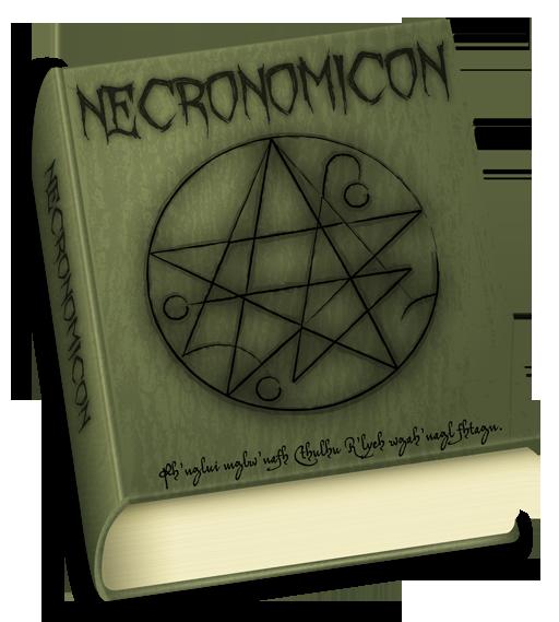 ölüler kitabı, necronomicon