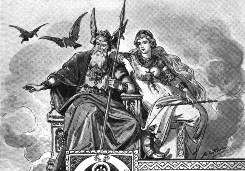 Odin, Frigg