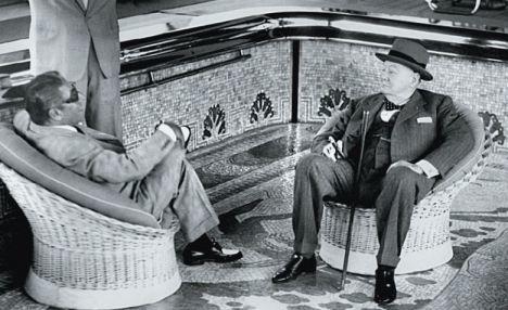 Onassis, Churchill