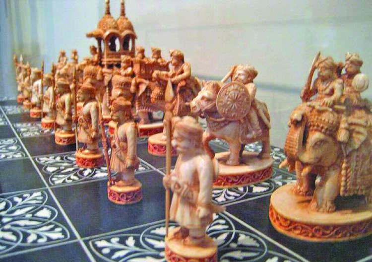 satranç, chess, kushan