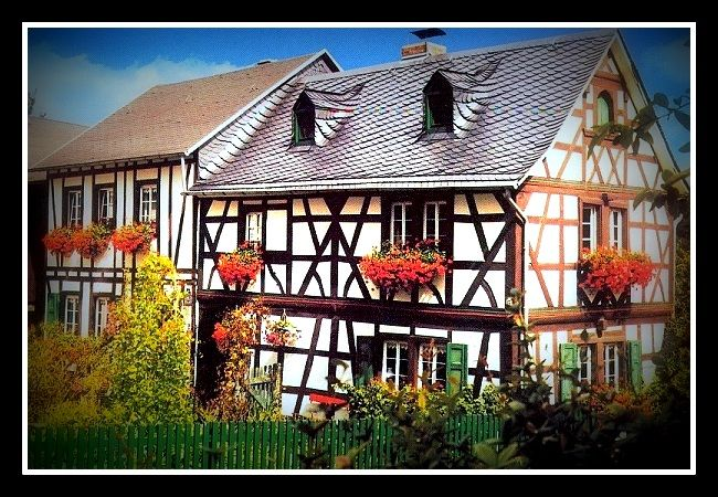 Ältestes Haus in Melsbach