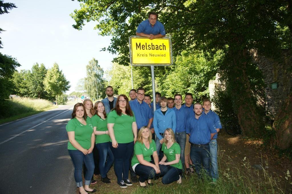 Am Ortseingang von Melsbach