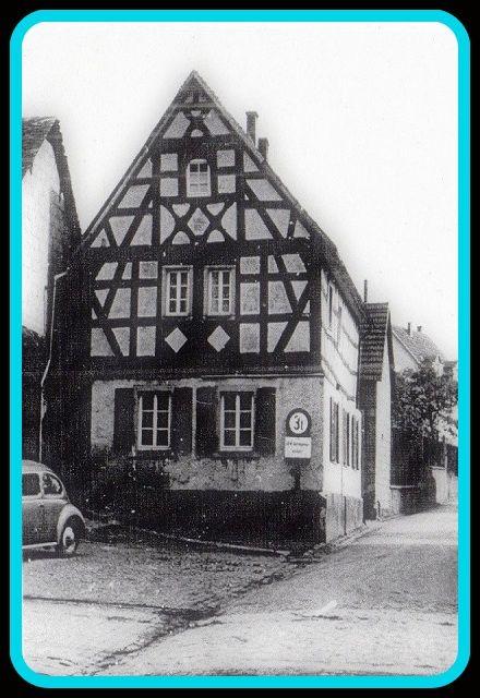 Unter Denkmalschutz stehendes Fachwerkhaus