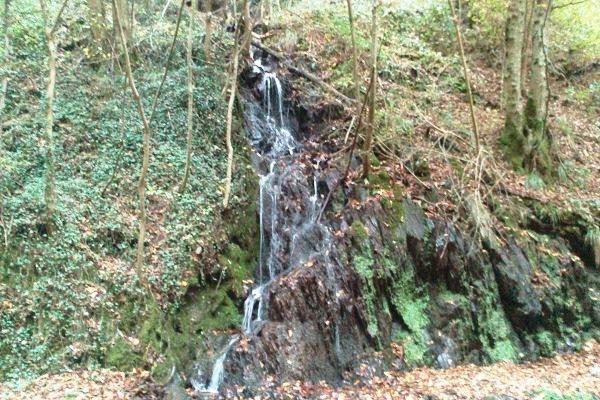 Ein zweiter kleiner Wasserfall