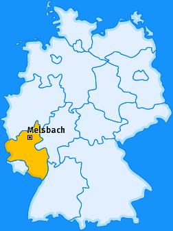 Uebersichstkarte Deutschland