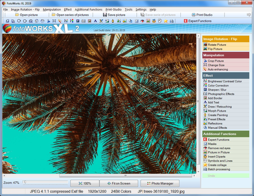 Easy to use photo editing software or good edit pictures