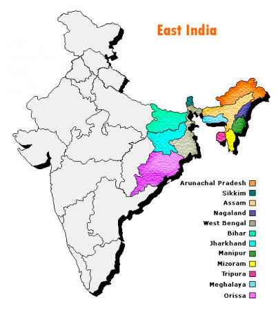essay on north east india