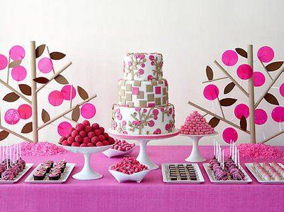 Mesas dulc s con estilo mesas dulces for Decoracion de mesas dulces infantiles