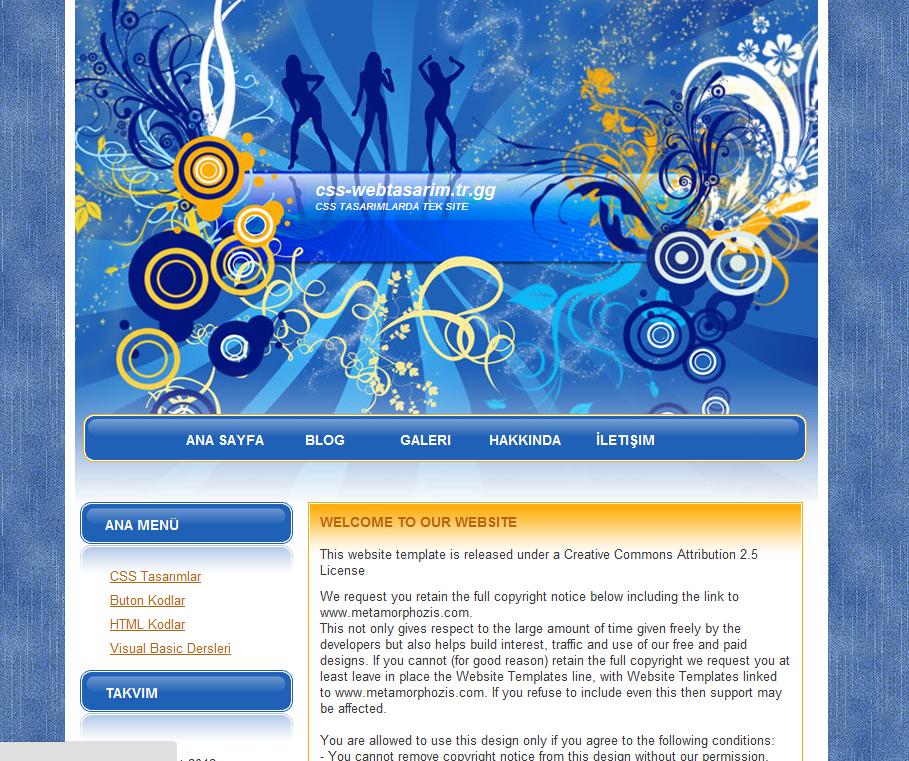 Disko Tasarımı Sitesi Tasarımı