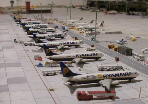 regionaler Flughafen Airport 1//500