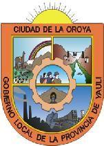 Municipalidad Provincial de Yauli La Oroya