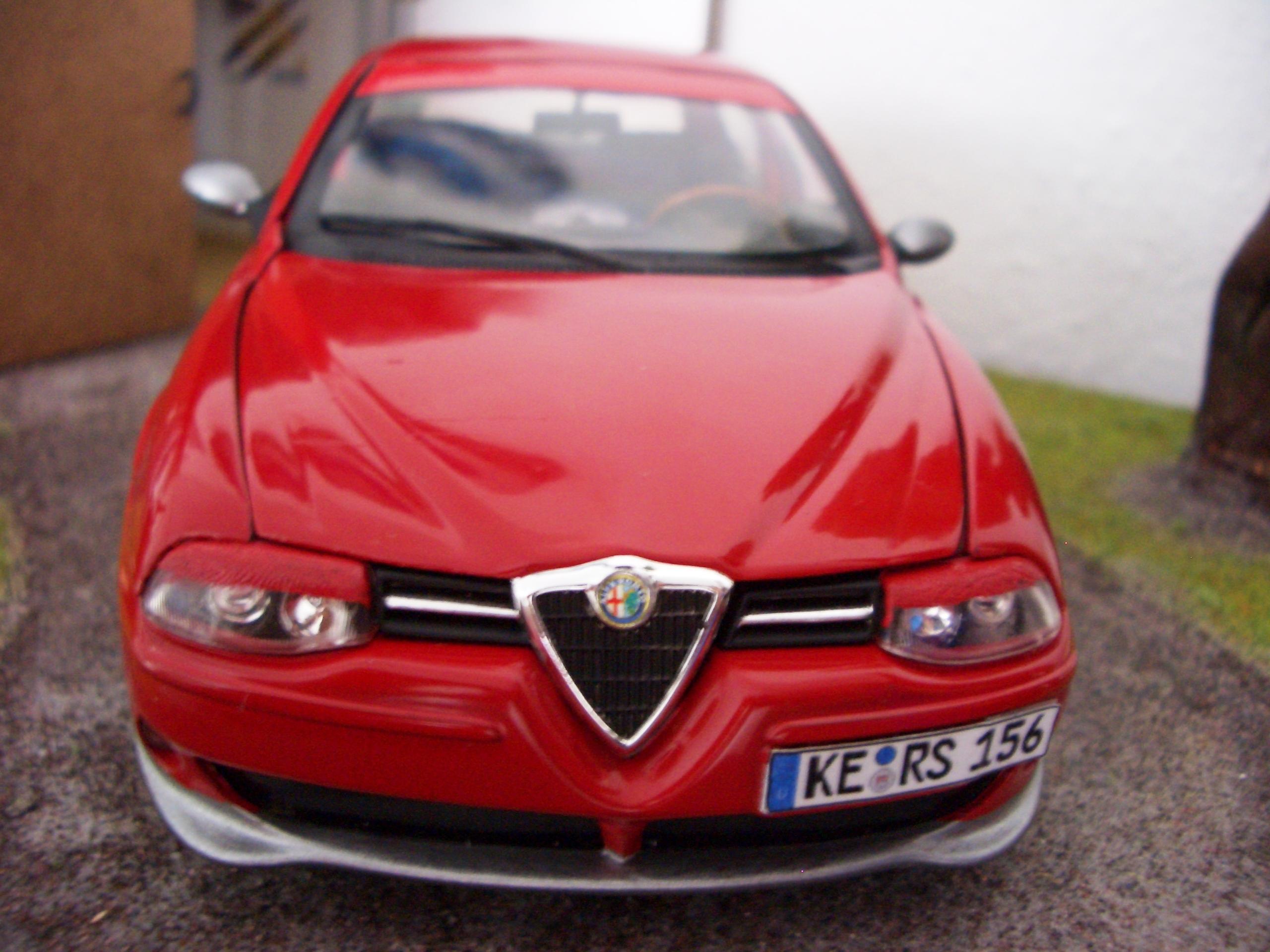1 18 Tuning Alfa Romeo 156 Gta