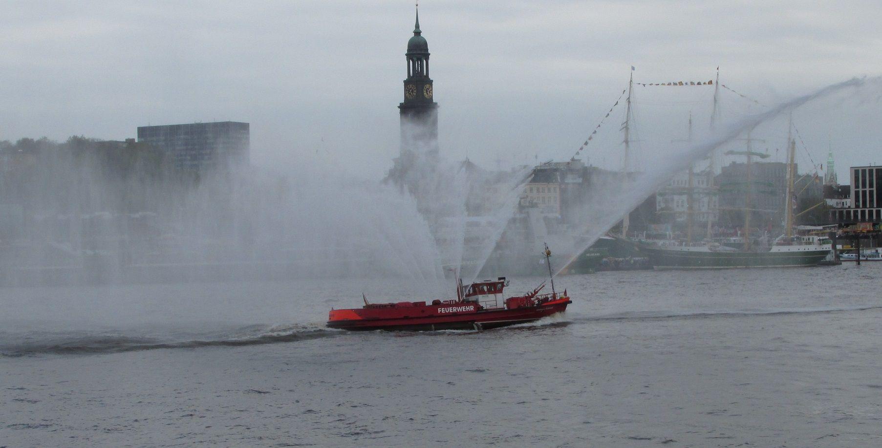 Oberbaurat Schmidt Feuerwehr Hamburg