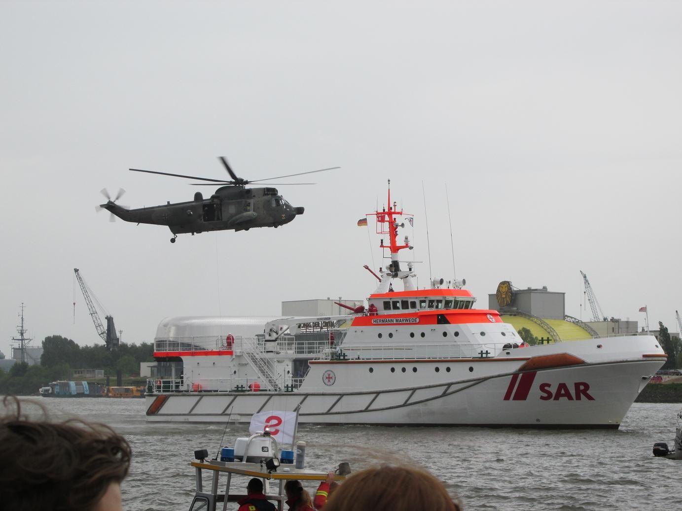 DGzRS Hermann Marwede in Hamburg