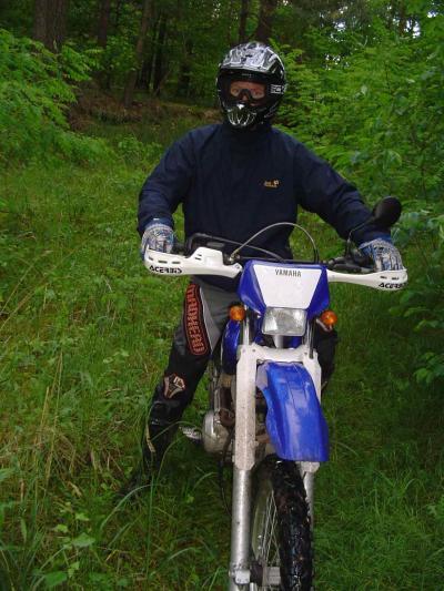Lars mit ner Mohaak TTR 600