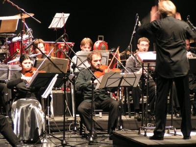 Podczas koncertu Orkiestry Muzyki Nowej