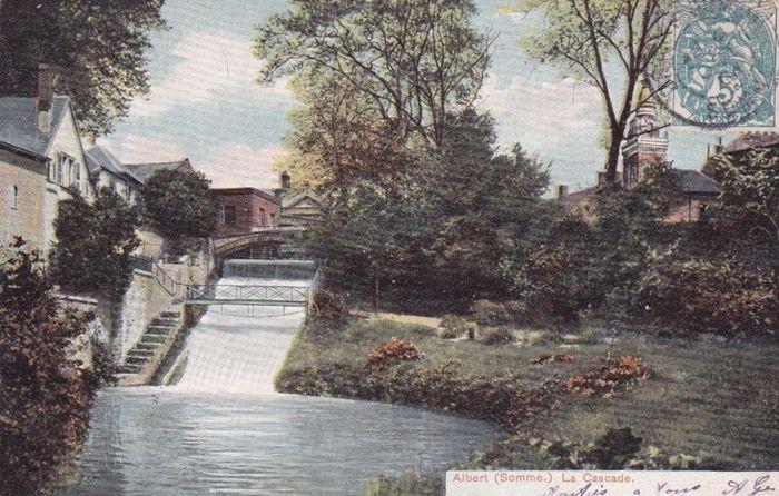 usine de la Société Industrielle d'Albert. La cascade, force motrice