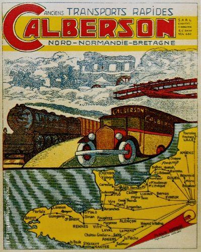 affiche Calberson
