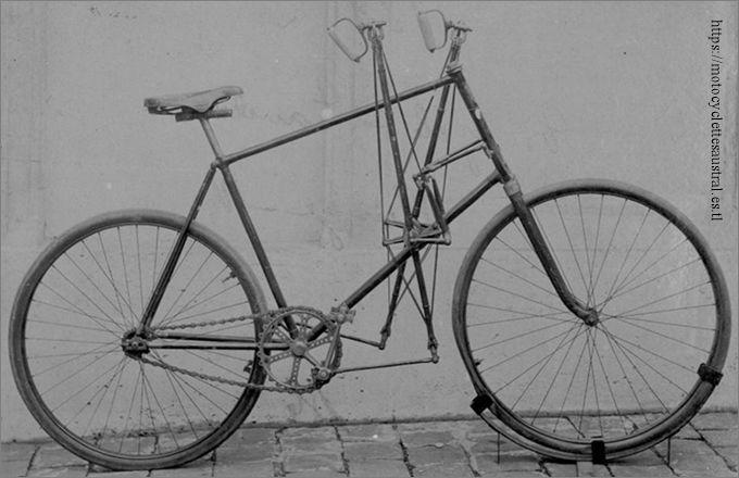 bicyclette Valère 1894, propriété de la famille Bernadou-Dacier