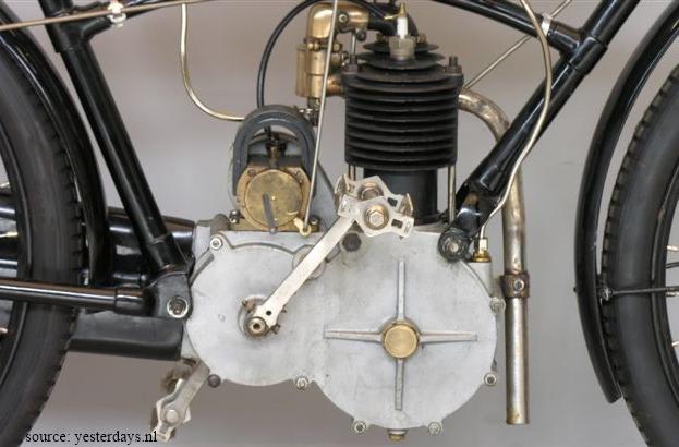 moteur de la motocyclette Rochet type MI