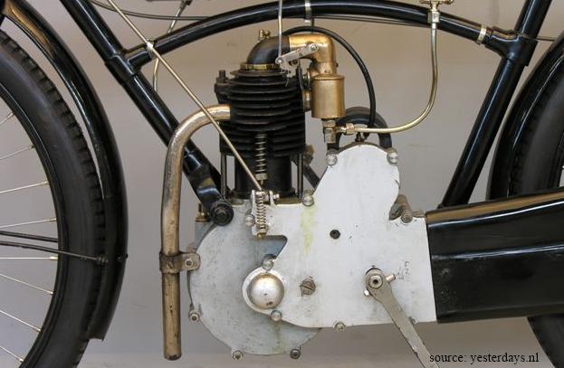 moteur Rochet 1906, motocyclette type MI