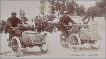 tricar Austral de competition, 1906