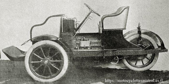 trivoiturette Rochet-Bruneau, 1906/1907