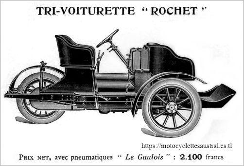trivoiturette Rochet 1910