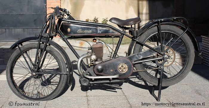 motocyclette Austral GT26, 1926