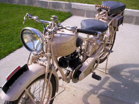 moto Austral type D 27-4, 1928 ou 1929, moteur Zurcher 250cmc