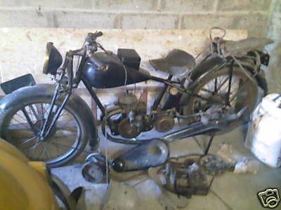 moto Austral type D 27-2, 1929 moteur sport 2 temps