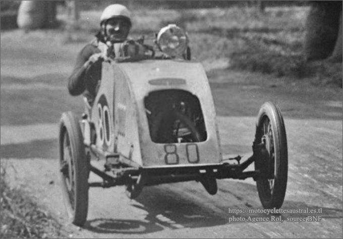 1929 Bol d'Or Chéret cyclecar Jack Sport