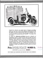 Austral camionnette trois roues type L, catalogue 1931