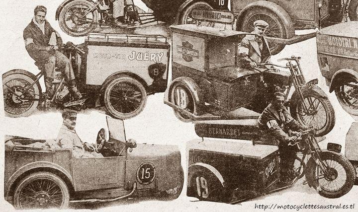 1928 championnat des trimoteurs, quelques concurrents