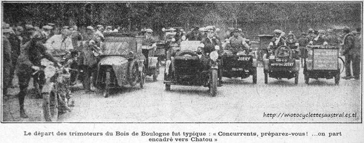 1928 Championnat des trimoteurs industriels, départ des concurrents