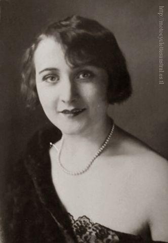 Aimée Pfanner, Portrait 1929