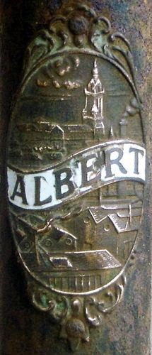 plaque de cadre cycles Albert