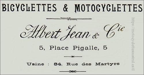 Albert Jean, adresse
