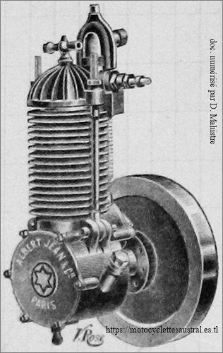 moteur Albert Jean, vers 1901